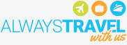always travel with us logo