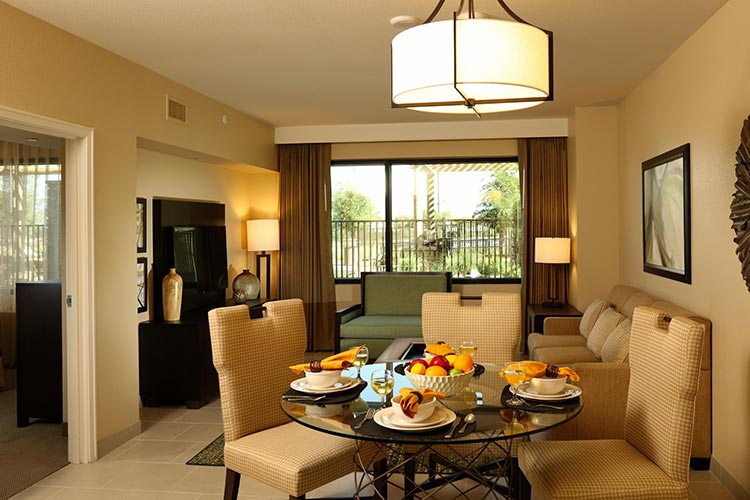 guest suite dining room area, The Berkley, Las Vegas