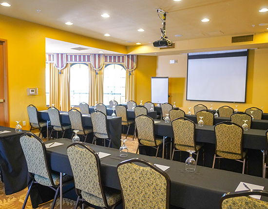 meeting room inside grand clubhouse, The Berkley, Orlando