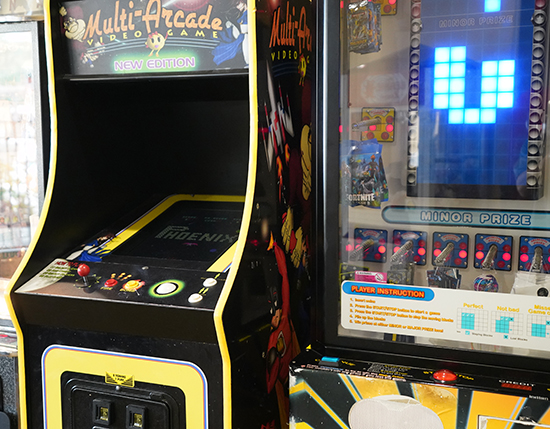 guest arcade inside the grand clubhouse, The Berkley, Orlando