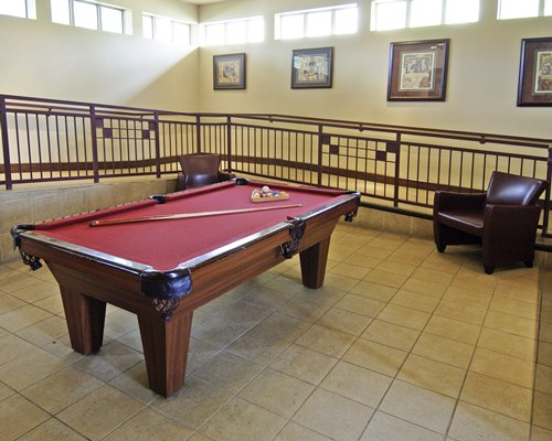billiard table in main clubhouse, The Cliffs at Peace Canyon