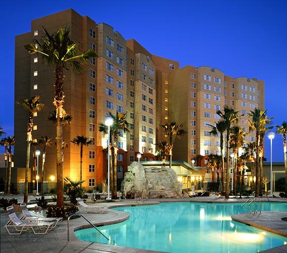 resort view at night, The Grandview at Las Vegas