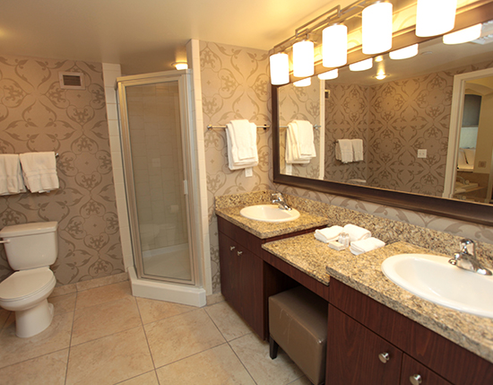 bathroom and vanity, The Grandview at Las Vegas