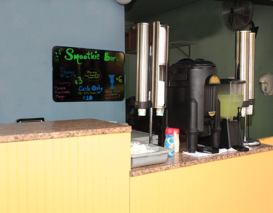 Poolside smoothie bar, Mizner Place at Weston Town Center