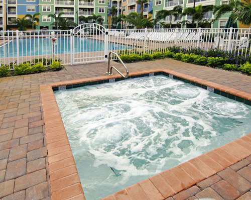outdoor hot tub adjacent to the main pool, Mizner Place at Weston Town Center