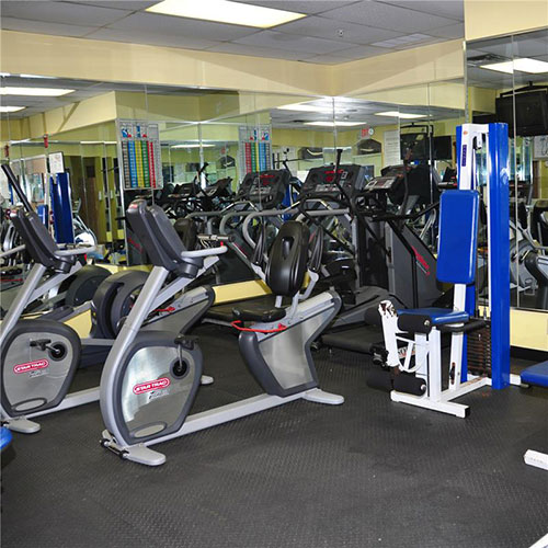 fitness room with cardio equipment, Palm Beach Shores Resort and Vacation Villas