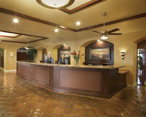 guest lobby at main entrance of resort, Palm Beach Shores Resort and Vacation Villas