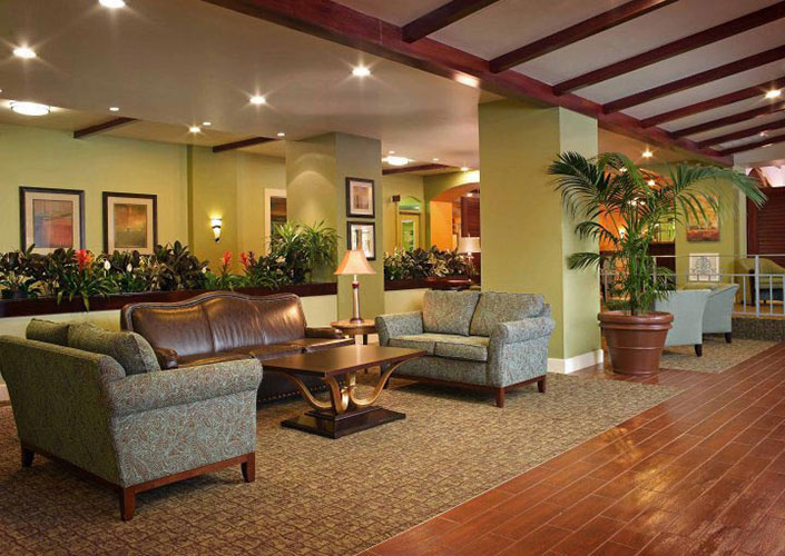 guest lobby area, Palm Beach Shores Resort and Vacation Villas