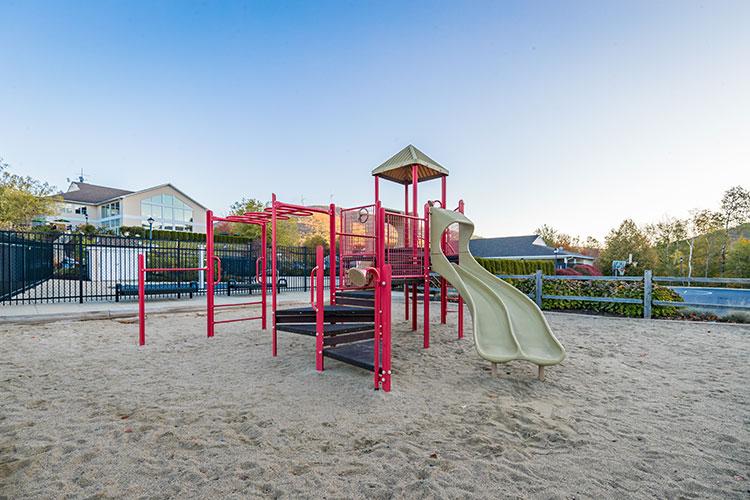 children's playground, Vacation Village in the Berkshires