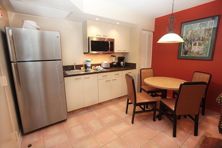 B Suite guest partial kitchen, Vacation Village at Bonaventure