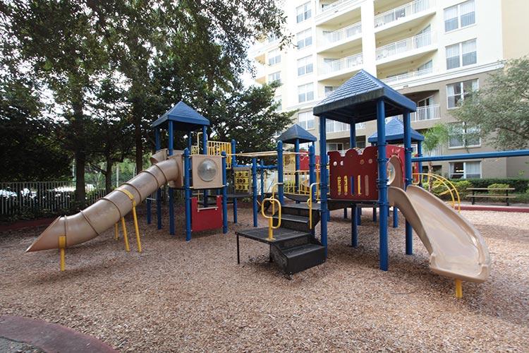 children's playground, Vacation Village at Parkway