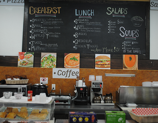 deli shop with order menu available on wall, Vacation Village at Weston