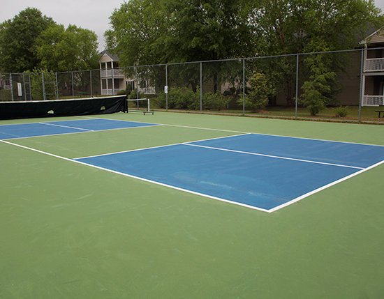 outdoor pickle ball court, Vacation Village at Williamsburg