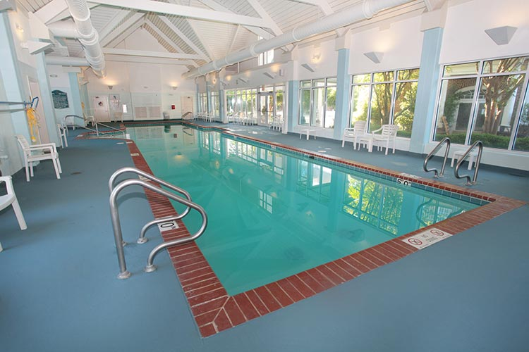 indoor heated swimming pool, Vacation Village at Williamsburg